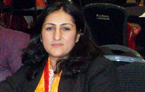 Najia Karimi, Executive Director