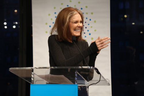 Gloria Steinem - Donor Direct Action Launch Party