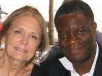 Gloria Steinem and Dr. Denis Mukwege