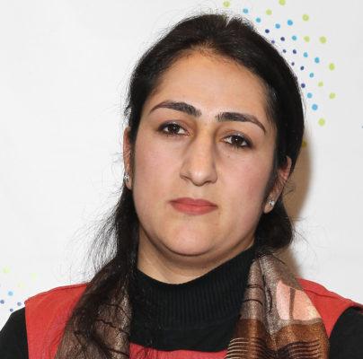 Najia Karimi (Photo by Astrid Stawiarz/Getty Images)