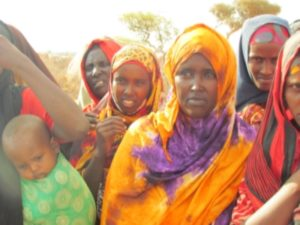 Women being suppored at The Galkayo Center
