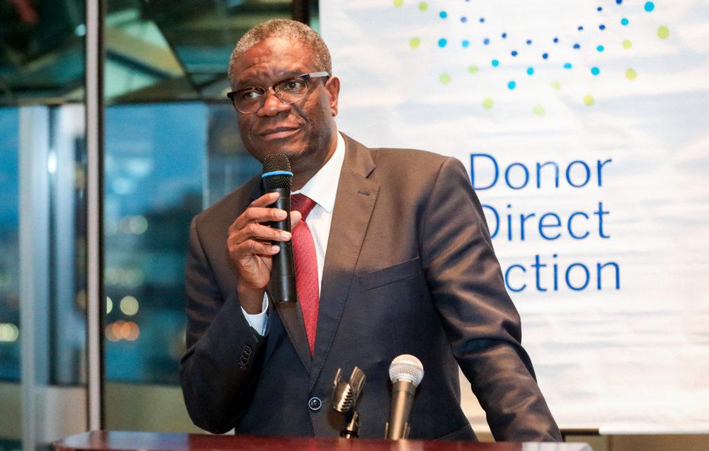 Dr. Denis Mukwege wins Nobel Peace Prize