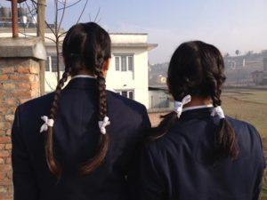 Nepali School Girls
