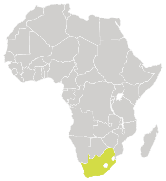 Map-of-Africa-with-South-Africa-Highlighted