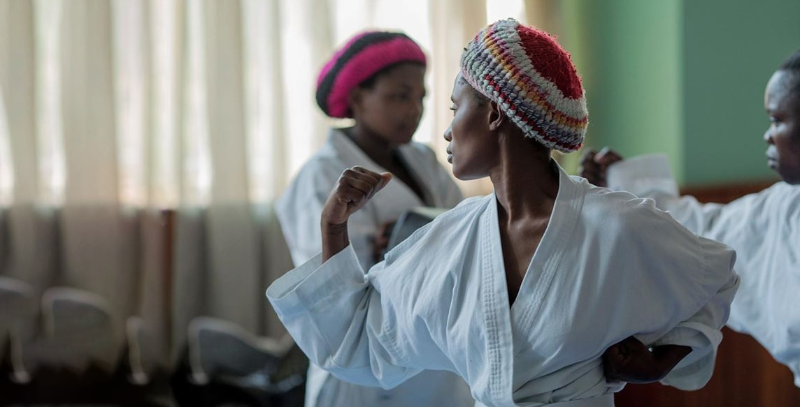 Panzi created Maison Dorcas- a specialized after-care and community center. Offer occupational therapy, drama, yoga, dance, karate, and art therapy