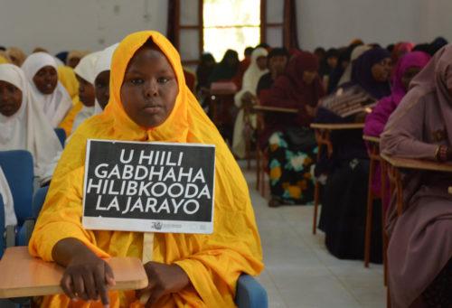Somali girl opponent of FGM
